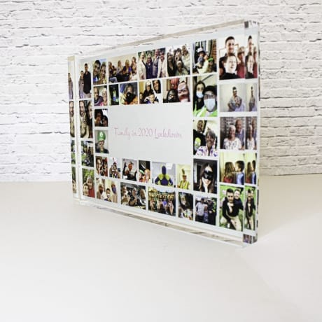 35 Photo Block Collage - Lockdown memories Family