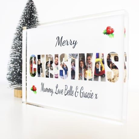 CHRISTMAS Photo Block