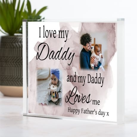 Love : Father's day Block