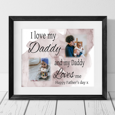 Love : Father's day Frame