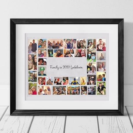 35 Photo Collage - Lockdown memories Family