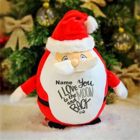 Love You To The Moon And Back Personalised Santa