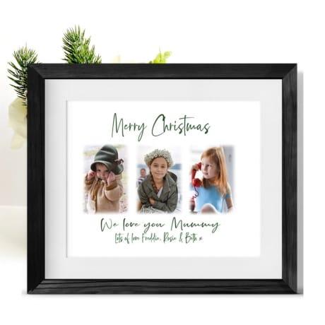 Christmas Photo Frame Collage Mum