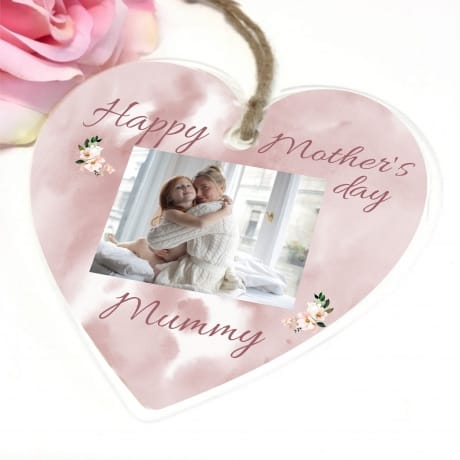 Personalised Mother's Day Hanging Heart - Mummy