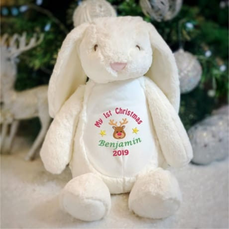 My 1st Christmas 2019 Personalised Rabbit