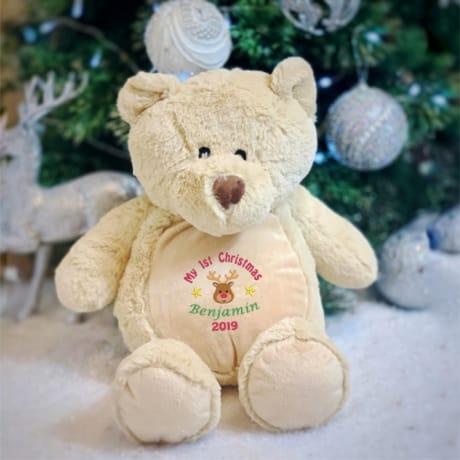 My 1st Christmas 2019 Personalised Teddy