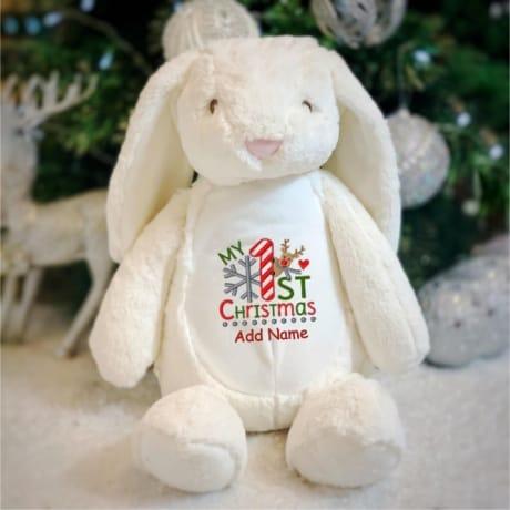 My 1st Christmas Personalised Rabbit