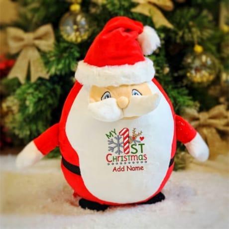 My 1st Christmas Personalised Santa