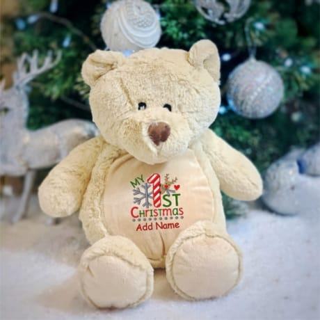 My 1st Christmas Personalised Teddy