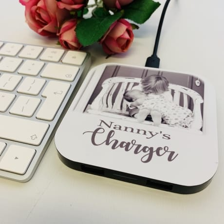 Nanny's Personalised Charging Pad