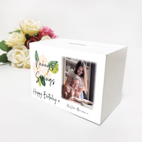 Ladies Birthday Money Box