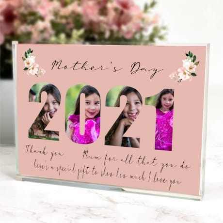 2021 Mother's Day for Mum Photo block Collage