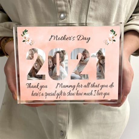 2021 Mother's Day for Mummy Photo block Collage