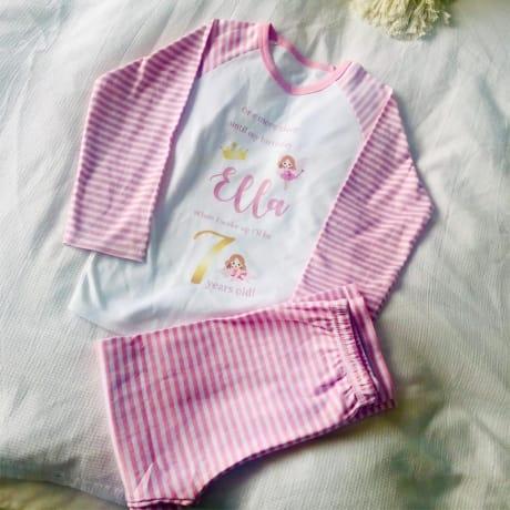 Children's personalised pyjamas- Fairy