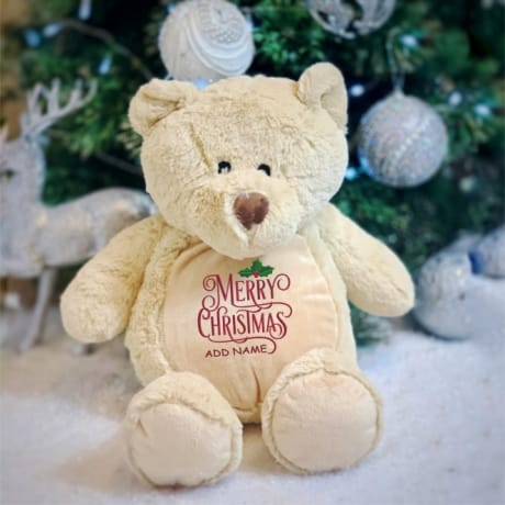 Personalised Christmas Bear