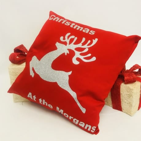 Personalised Christmas Cushion - Christmas at the ..