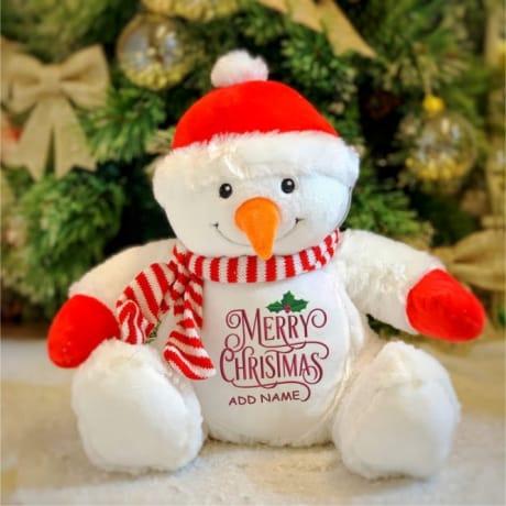 Personalised Christmas Snowman