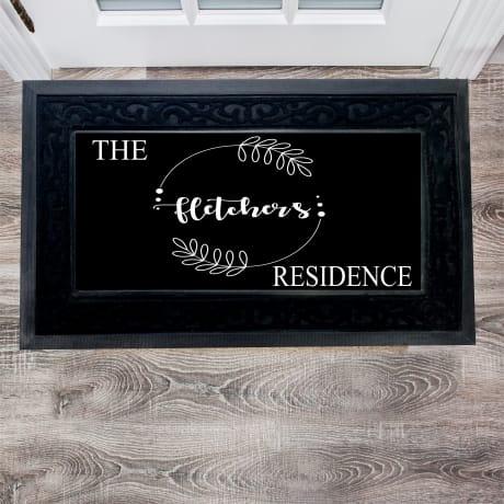 Personalised Deluxe Doormat