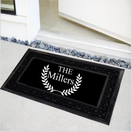 Personalised Luxury Deluxe Doormat
