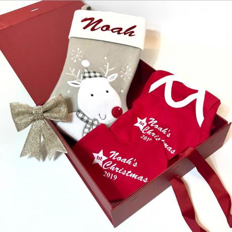Baby's 1st Christmas Gift Set