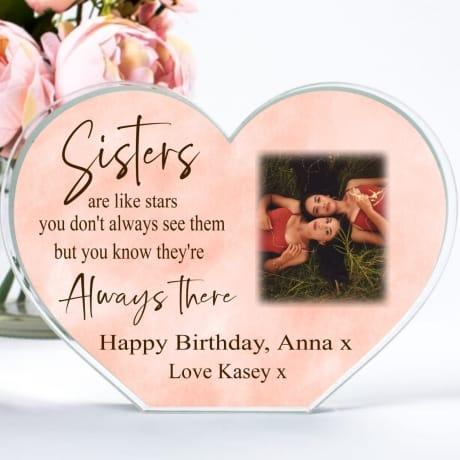 Birthday Sisters  ...like stars heart block