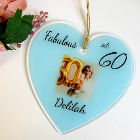 Special 60th Birthday Heart
