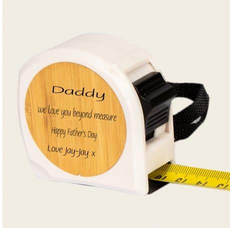 Personalised Tape Measure Design 2
