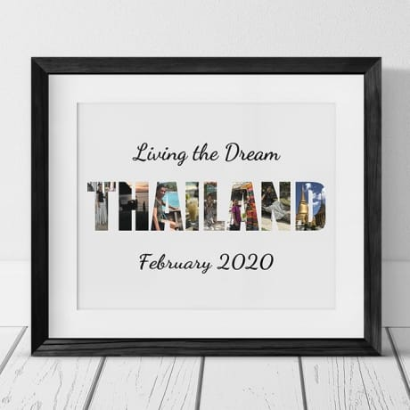 Thailand Photo Collage