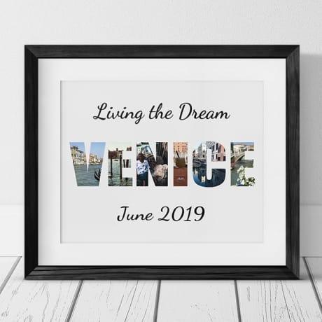 Venice Photo Collage