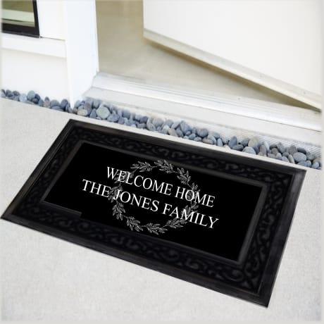Personalised Luxury Welcome Home Doormat