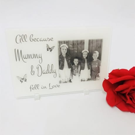 Personalised Photo Gift - All because