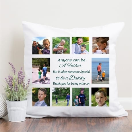 Personalised Photo Collage Cushion