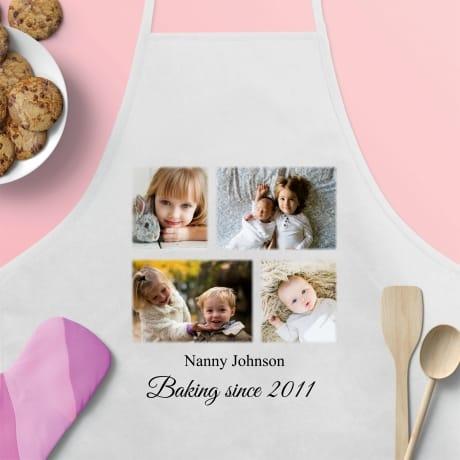 Personalised Apron, Baking since