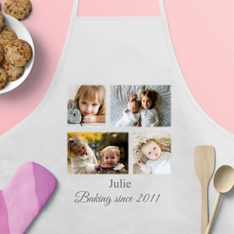 Personalised Apron, Baking since