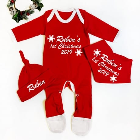 Baby's 1st Christmas Set
