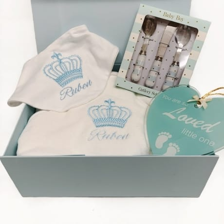 Baby Boy Gift Set - Personalised