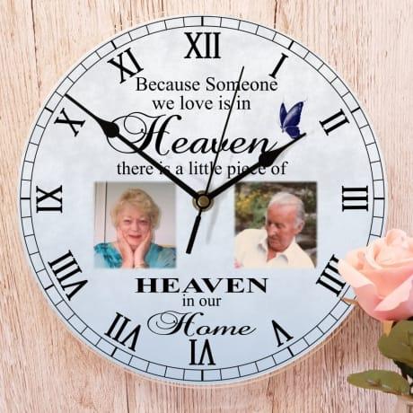Personalised clock - Heaven...