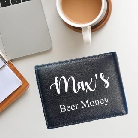 Personalised Card Holder- Beer Money