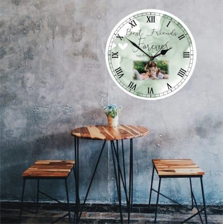 Personalised Birthday Clock - Best friends forever