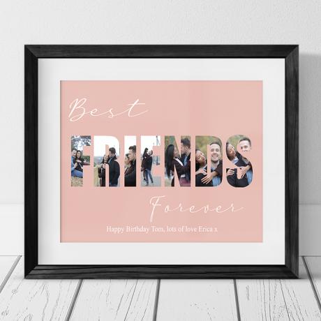 Best Friends Birthday Photo Collage