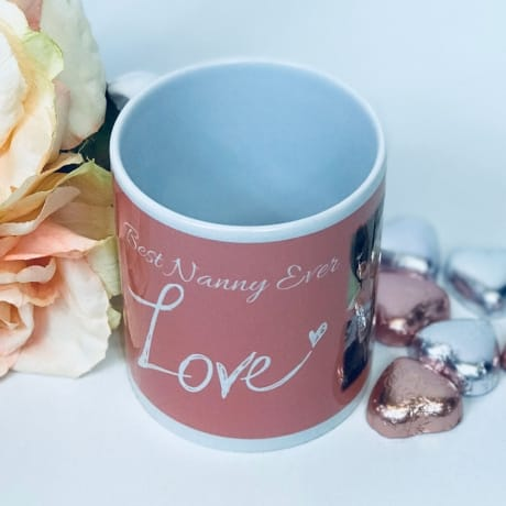 """""""Any text"""" Love mug"""