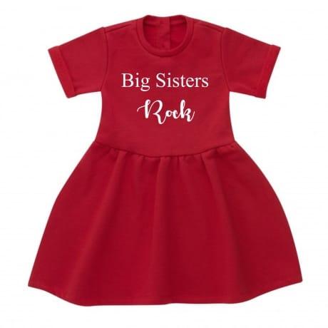 Big sisters rock dress
