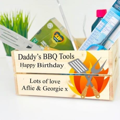 Personalised BBQ Crate