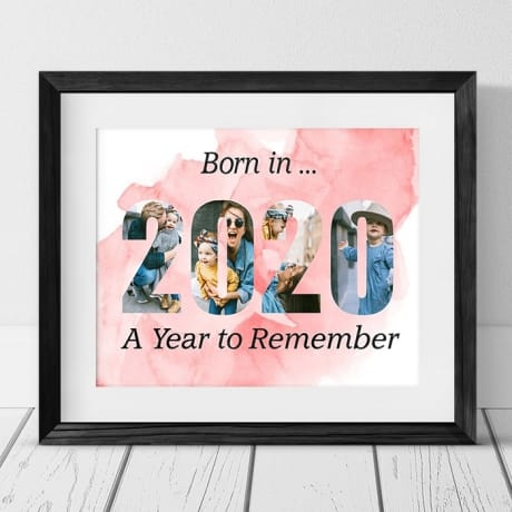 2020 Personalised Photo Frame