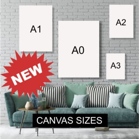 7 Photo Canvas First my Mother
