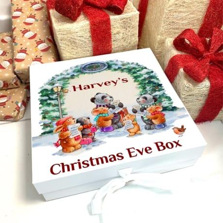 Christmas Eve Carol Singers box
