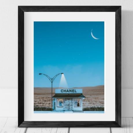 Chanel Beach Hut
