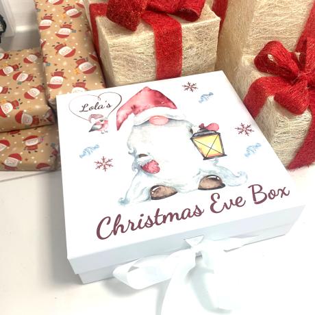 Christmas Eve Gnome box