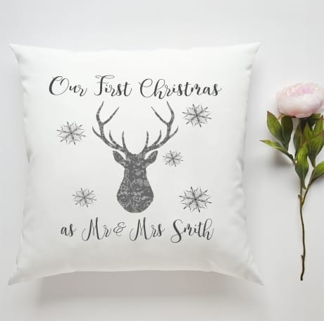 Our 1st Christmas as Cushion