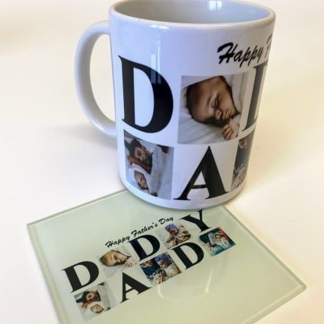 Daddy 5 Photo Mug Father's day